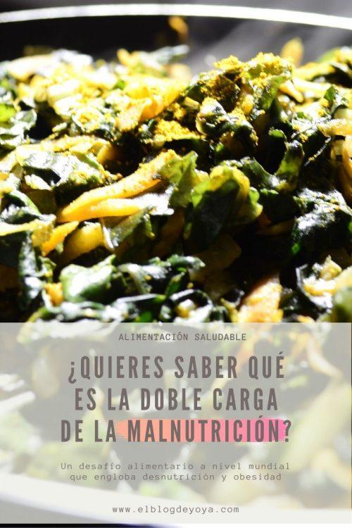 ¿Quieres saber qué es la doble carga de la malnutrición?