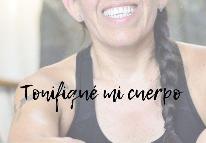 Tonifiqué mi cuerpo combinando distintas disciplinas deportivas